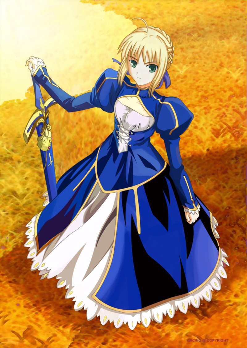 anime blue saber ndash - photo #4